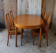 Nathan dining table & chairs - SOLD